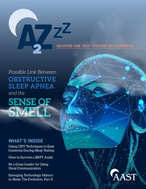 A2Zzz magazine for sleep technologists