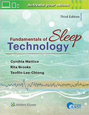 Fundamentals of Sleep Technology 2019 edition cover image